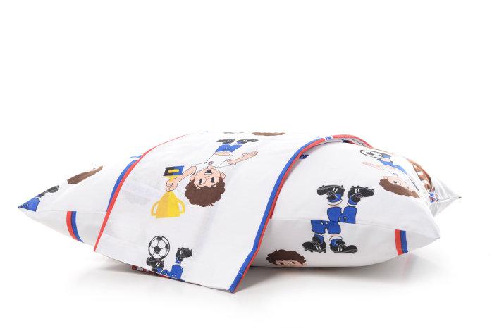 Posteljina Hajduk dječja s plahtom